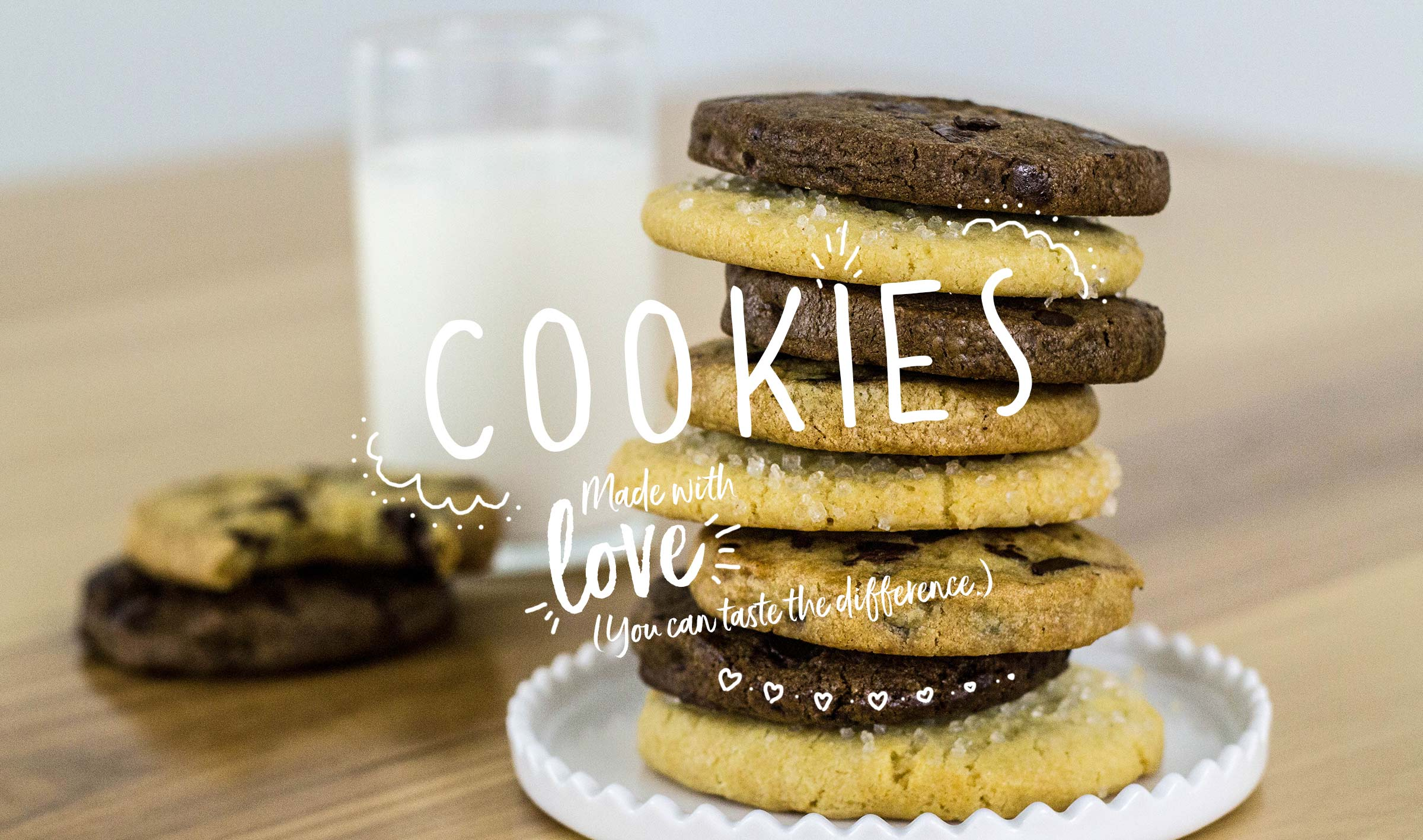 From-scratch cookies and desserts
