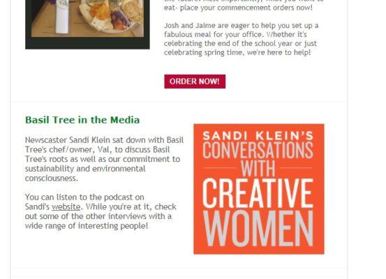graduation 2016 and sandi klein interview newsletter